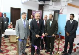 INAUGURATION OF FIRST APPROVED ETD MACHINE INSTALLED AT EXPORT RAS CARGO SHED – KARACHI